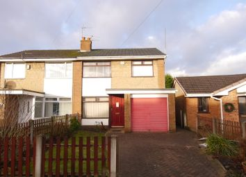 Thumbnail 3 bed semi-detached house to rent in Cambourne Drive, Hindley Green, Wigan