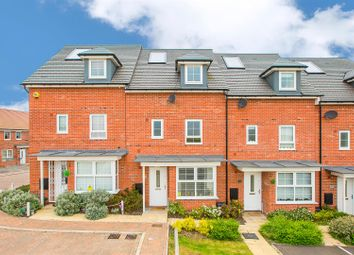 Thumbnail 4 bed town house for sale in Cadwell Close, Burton Latimer