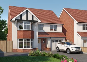 Thumbnail 4 bed detached house for sale in Forest Road, Ellesmere Port