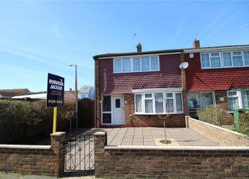 Thumbnail 3 bedroom end terrace house for sale in Stuart Road, Welling, Kent