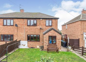 Thumbnail 3 bed semi-detached house for sale in Tennyson Avenue, Campsall, Doncaster