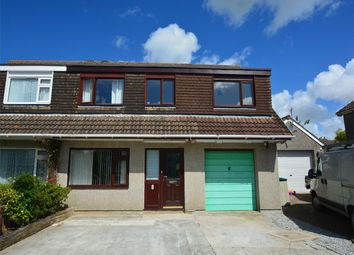 Thumbnail 5 bed semi-detached house for sale in Polstain Cresent, Threemilestone, Truro