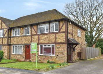 Thumbnail 3 bed end terrace house to rent in Christie Close, Lightwater, Surrey
