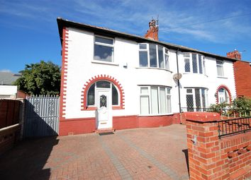 Thumbnail 3 bed semi-detached house to rent in Rosebank Avenue, Blackpool, Lancashire