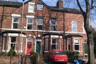 Thumbnail 4 bed terraced house to rent in Beaufort Avenue, West Didsbury