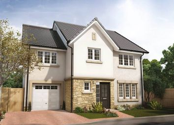 "Thumbnail 4 bed semi-detached house for sale in ""Bryce Semi-Detached"" at Penicuik Road, Roslin"