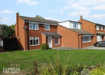 Thumbnail 4 bed detached house for sale in Grangebrook Drive, Winsford, Cheshire