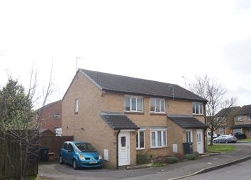 Thumbnail 2 bed end terrace house for sale in Rycote Close, Grange Park, Swindon