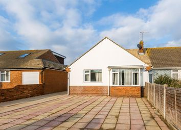 Thumbnail 2 bed semi-detached bungalow for sale in Wiston Close, Worthing