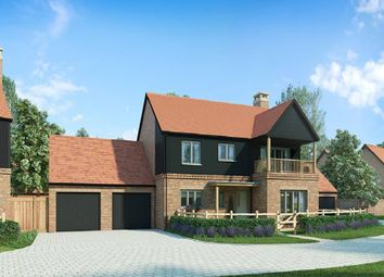 "Thumbnail 4 bed detached house for sale in ""The Lawrence"" at Andover Road North, Winchester"