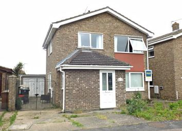 Thumbnail 3 bed detached house for sale in Gorleston, Great Yarmouth, Norfolk