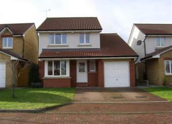 Thumbnail 4 bed detached house to rent in Fowler Crescent, Denny, Falkirk