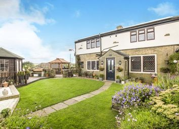 Thumbnail 4 bed end terrace house for sale in Sunny View Terrace, Ambler Thorn, Queensbury, West Yorkshire