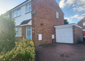 Thumbnail 3 bed semi-detached house for sale in Holly Close, Biggleswade