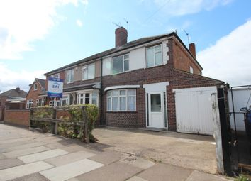 Thumbnail 3 bed semi-detached house to rent in Burnaston Road, Leicester