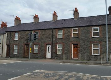 Thumbnail 2 bed terraced house to rent in Caernarfon Road, Bangor, Bangor