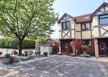 Thumbnail 4 bed terraced house for sale in Springburn Close, Worsley, Manchester