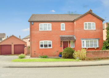 Thumbnail 4 bed detached house for sale in The Tithings, Kibworth, Leicester