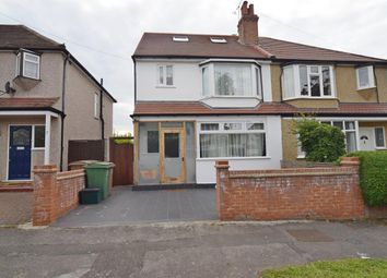 Thumbnail 3 bed semi-detached house for sale in Fieldsend Road, North Cheam, Sutton
