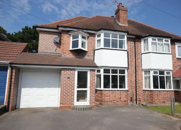 Thumbnail 4 bed semi-detached house for sale in Brookvale Road, Solihull