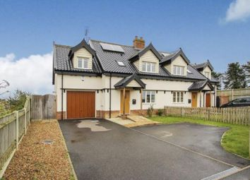 Thumbnail 3 bed semi-detached house for sale in Spinney Drive, Norwich