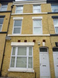 Thumbnail 4 bedroom shared accommodation to rent in Earle Road, Wavertree, Liverpool