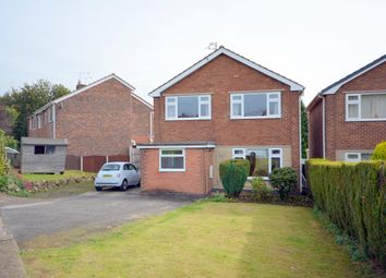 Thumbnail 3 bed detached house for sale in Norwood Close, Hasland, Chesterfield