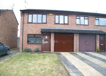 Thumbnail 1 bed flat for sale in Verdin Court, Crewe, Cheshire