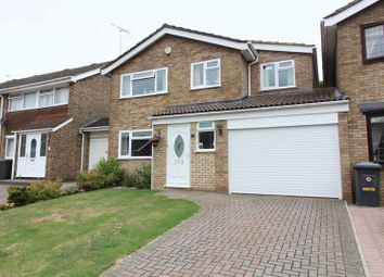 Thumbnail 4 bed detached house for sale in Leyhill Drive, Luton