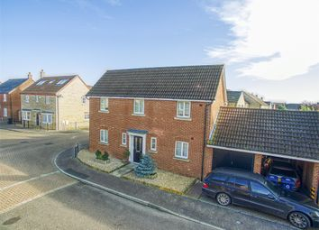 Thumbnail 4 bed detached house for sale in Bellamy Close, Eynesbury, St. Neots