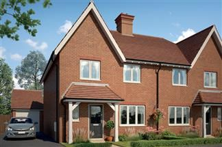 Thumbnail 4 bed semi-detached house for sale in Tadpole Rise, Swindon