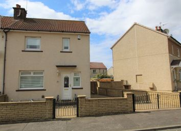 Thumbnail 2 bedroom end terrace house for sale in Central Avenue, Ardrossan