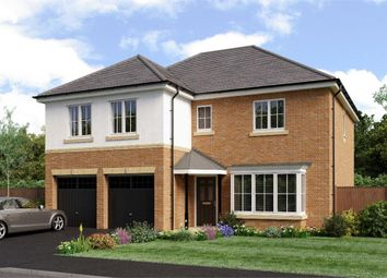 "Thumbnail 5 bed detached house for sale in ""The Jura"" at Weldon Road, Cramlington"