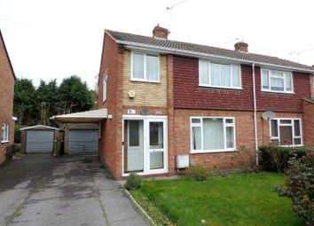 Thumbnail 3 bed semi-detached house for sale in Giffard Drive, Farnborough