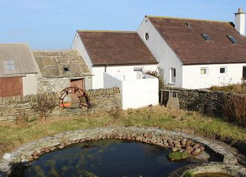 Thumbnail 4 bed detached house for sale in Broughton, Westray, Orkney