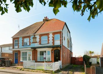 Thumbnail 3 bed semi-detached house for sale in Reculver Road, Beltinge, Herne Bay, Kent