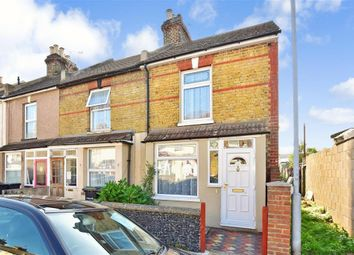 Thumbnail 3 bed end terrace house for sale in Northcote Road, Gravesend, Kent