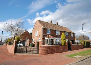 Thumbnail 4 bedroom semi-detached house for sale in Wyndham Avenue, Gosforth, Newcastle Upon Tyne