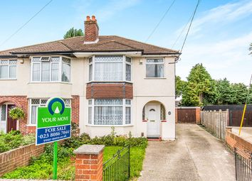 Thumbnail 3 bed semi-detached house for sale in Parkside Avenue, Southampton