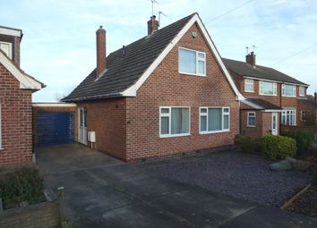 Thumbnail 3 bed detached house to rent in Meadow Crescent, Castle Donington, Derby
