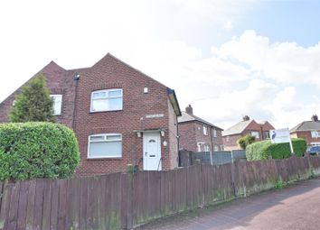 Thumbnail 2 bed semi-detached house for sale in Thompson Road, Southwick, Sunderland