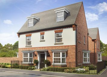"Thumbnail 4 bed detached house for sale in ""Hertford"" at Callow Hill Way, Littleover, Derby"