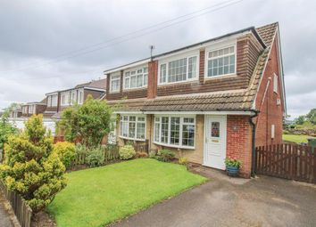 Thumbnail 3 bed semi-detached house for sale in The Poplars, Guiseley, Leeds