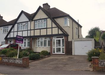 Thumbnail 3 bed semi-detached house for sale in Woodmere Avenue, Croydon