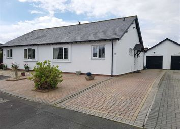 Thumbnail 2 bed semi-detached bungalow for sale in Swn Y Mor, Garden Suburb, Barry
