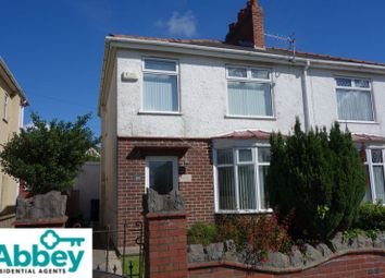 Thumbnail 3 bed semi-detached house for sale in Crymlyn Road, Skewen, Neath