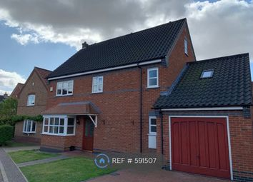 Thumbnail 5 bed detached house to rent in Crown Meadow, Reepham, Norwich