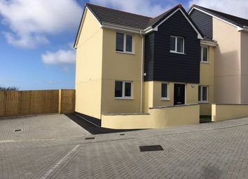 Thumbnail 3 bed semi-detached house to rent in Mowhay Meadow, Fraddon, St. Columb
