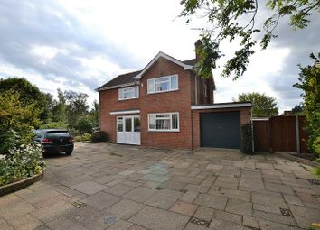Thumbnail 3 bedroom detached house for sale in The Grove, Dereham, Norfolk.