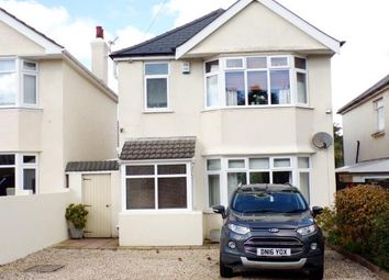 Thumbnail 3 bed detached house for sale in Wroxham Road, Poole
